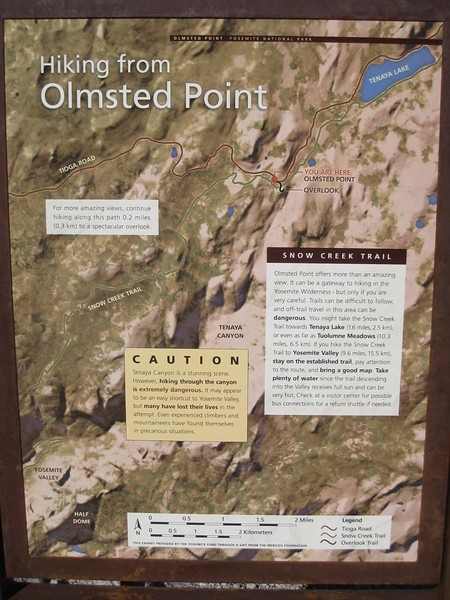 Olmstead Point Map