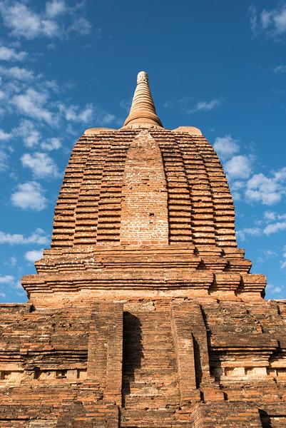 Close-up of bell of stupa, Bagan, Burma - Myanmar