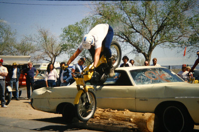 1984 Moto-X & Trials Demo @ Fairgrounds
