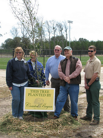 2009 Coastal Bryan Tree Foundation Henderson Park Planting