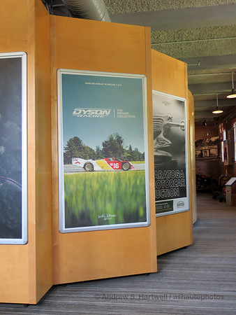 Dyson Racing Exhibit at the Saratoga Auto Museum