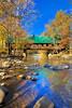 Emerts Cove Covered Bridge, Pittman Center, Tennessee, USA