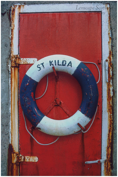 Lifebuoy, St Kilda jetty