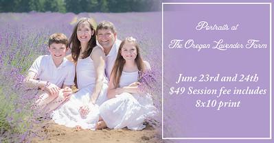 Oregon Lavender Farm Special