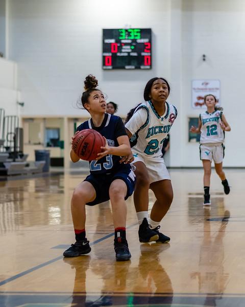 2019-01-02 Indian River vs Hickory Girls JV Basketball