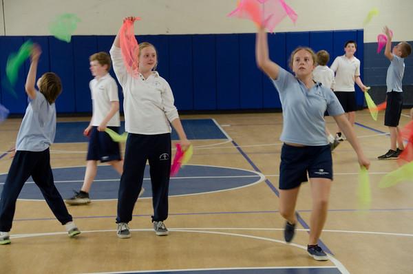 6W Circus Skills in PE