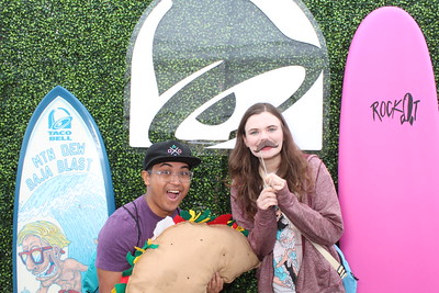 Taco Bell Cantina Grand Re-Opening
