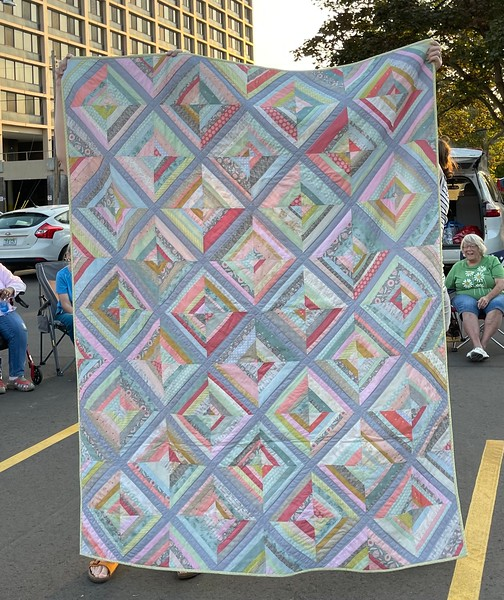 Our guest also made this quilt.