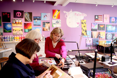 Beech Tree Studio at the Chilled Palette