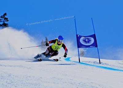 3-14-14 FIS Jr. Championships GS at Loveland - Run #1