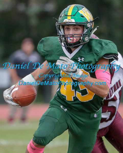 Ward Melville vs Walt Whitman 10-6-18