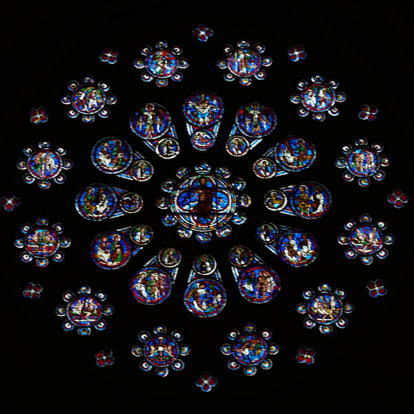 Chartres Cathedral West Rose  Window