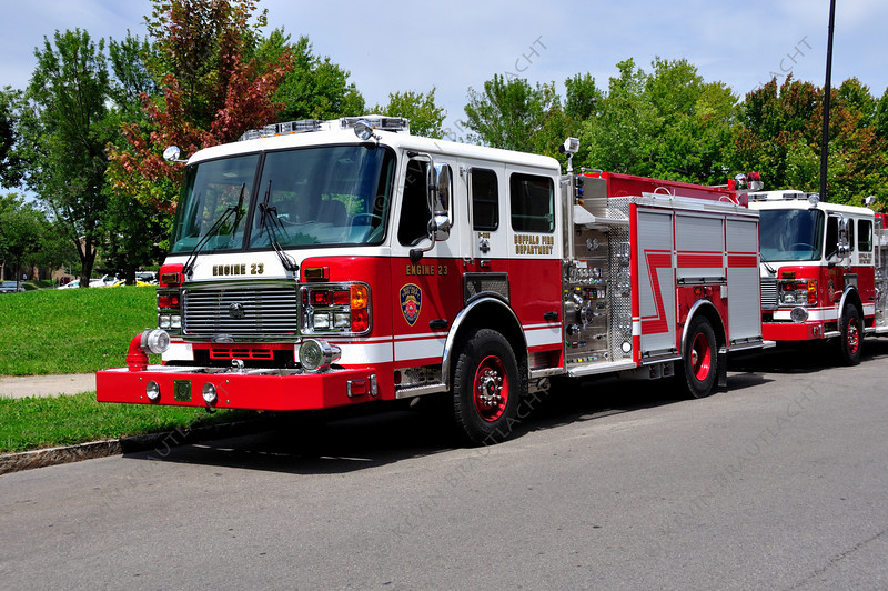 Engine 23 American La France  Buffalo Fire Department 2011