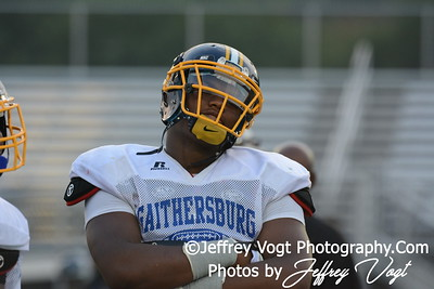 08-22-2014 Gaithersburg HS vs Suitland HS Varsity Football Scrimmage, Photos by Jeffrey Vogt Photography