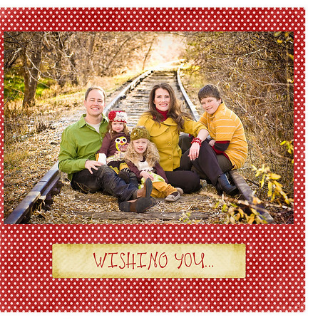 Plant Family Christmas Card 2009