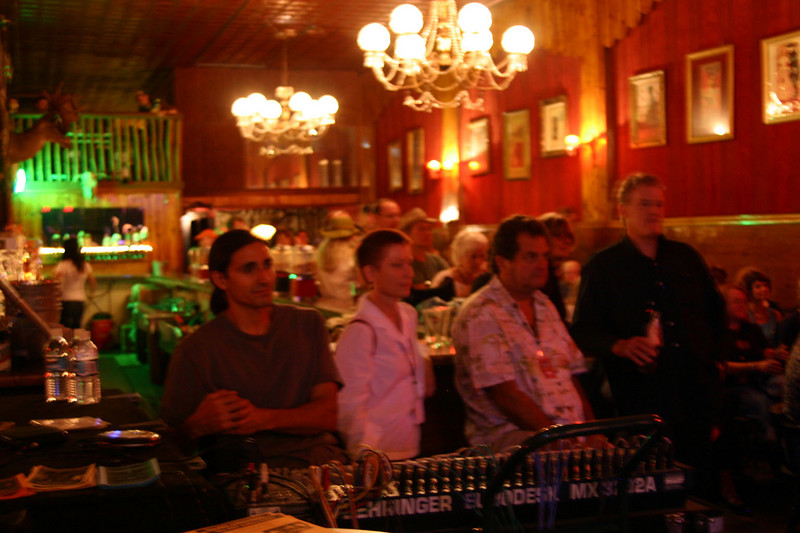 First show at Pucccini's Golden West in Albuquerque, New Mexico, on Friday.