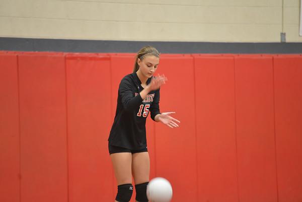 Girls' Volleyball: GA vs Springside - Senior Night