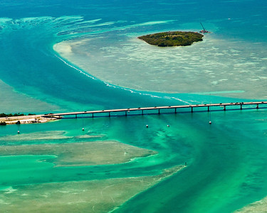 Aerials Florida Keys