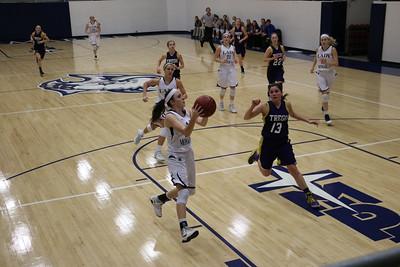Ladies Varsity Basketball vs Wakeeney 2017