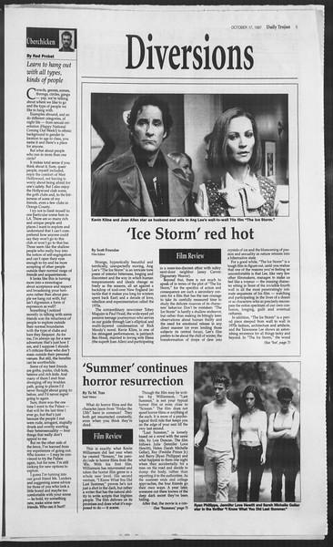 Daily Trojan, Vol. 132, No. 35, October 17, 1997