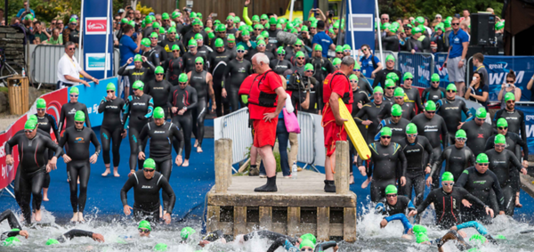 Taking a splash for Cancer Research UK