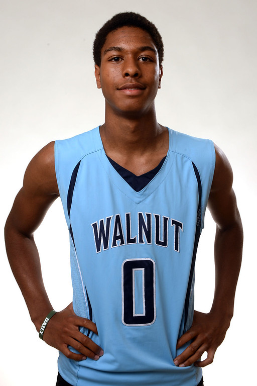 . Walnut\'s Zuri Williams, All-Area basketball Players at the San Gabriel Valley Tribune in West Covina, Calif., on Tuesday, April 8, 2014.  (Keith Birmingham Pasadena Star-News)