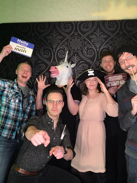2019-12-14 Mystic Lake Casino Holiday Party Photo Booth