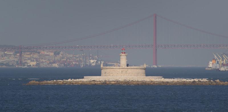 Bugio Lighthouse Lisbon