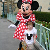 Minnie LOVED Maren's bows!