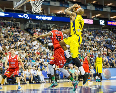 BBL PLay Off Finals 2015-2019, O2 London