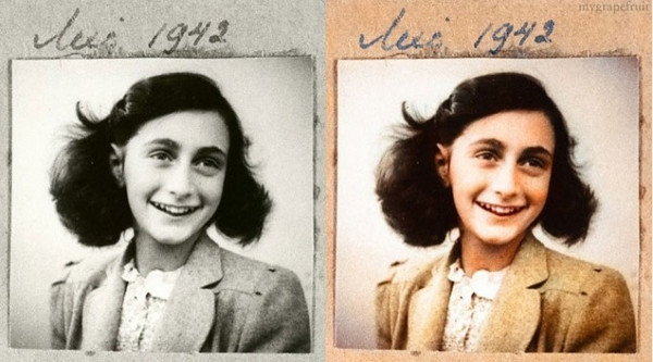 Anne Frank, 1942 (Photo credit: Sanna Dullaway)