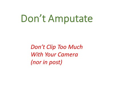Avoid Amputation