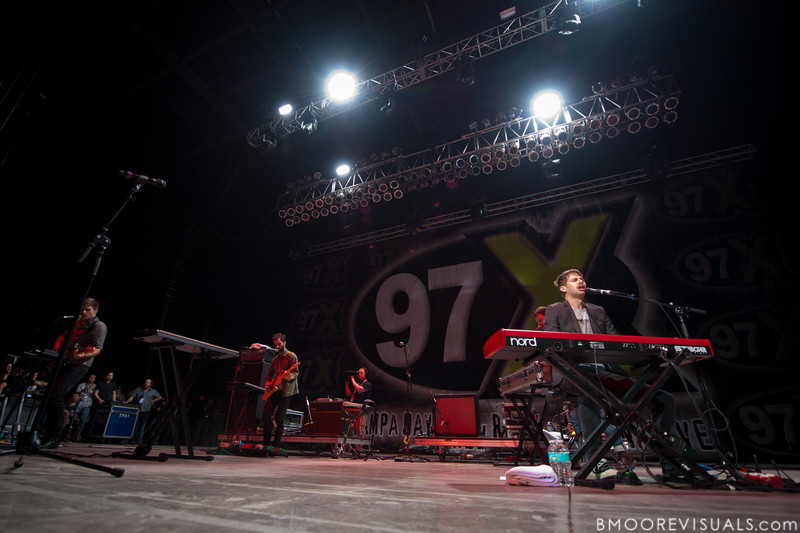 of Foster The People performs on December 3, 2011 during 97X Next Big Thing at 1-800-ASK-GARY Amphitheatre in Tampa, Florida