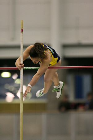 Pole Vault - 2013 UM vs MSU Indoor Meet