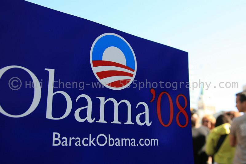 Barrack Obama Rally - Oakland