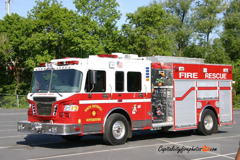 Winterstown Engine 45: 2004 Spartan/New Lexington 1750/1280