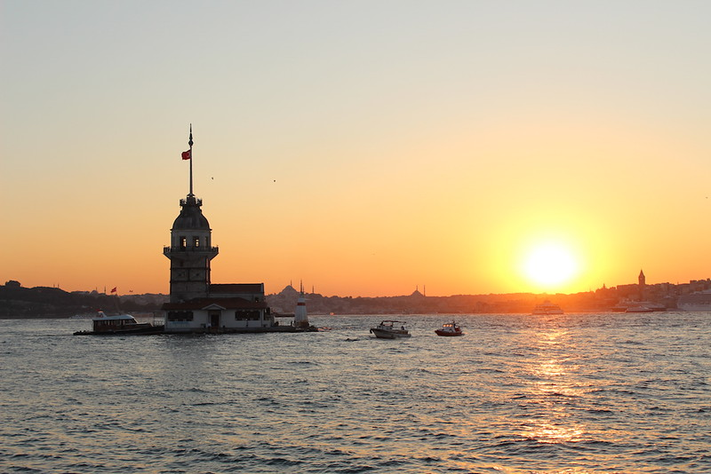 maidens tower istanbul turkey