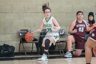 2020 Girls Basketball Eagle Rock vs Sotomayor 17Jan2020
