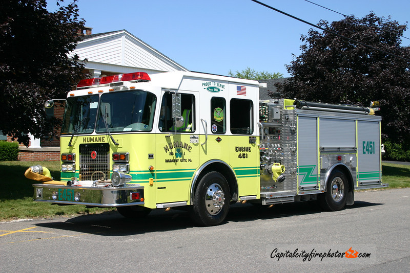 Mahanoy City (Humane Fire Co. 1) Engine 451: 2004 Spartan/Crimson 1500/500
