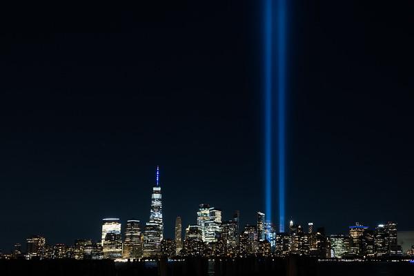 2020 Tribute in Light - New York City