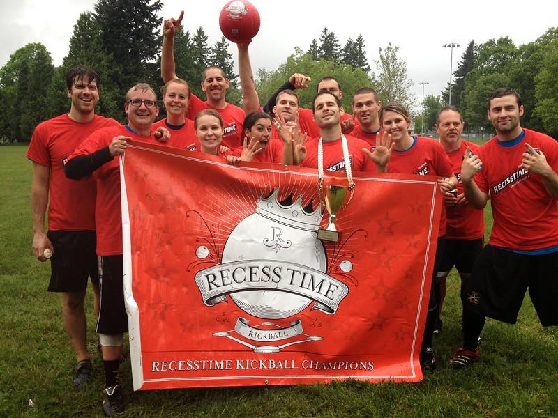 Recesstime Portland Kickball Dodgeball Bowling Ping Pong Mushball - 495