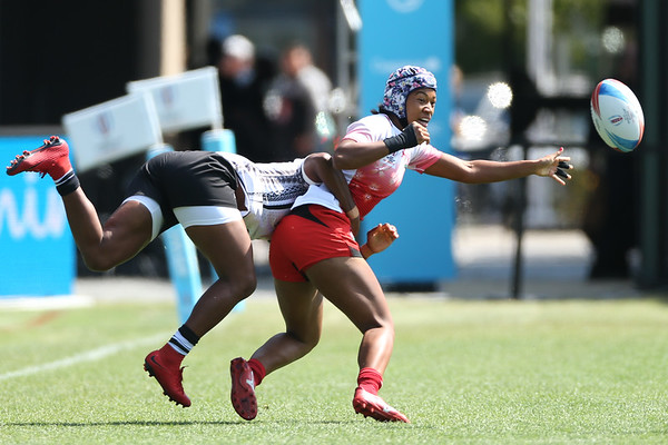 Fiji Women at the Rugby World Cup Sevens 2018