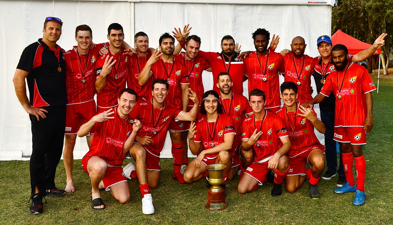 """""""A"""" GRADE TOP 4 CUP CHAMPIONS RENMARK"""