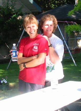 2003 25th Anniversary - Marg Melvin and Sandy Auburn