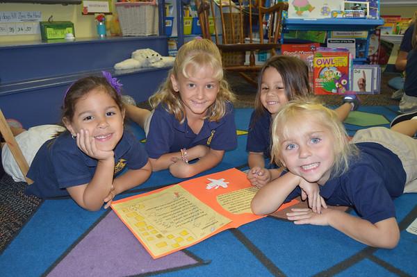 3rd Grade Buddies October