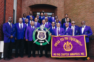 Omega Psi Phi Mu Rho Chapter Maryland's Ques