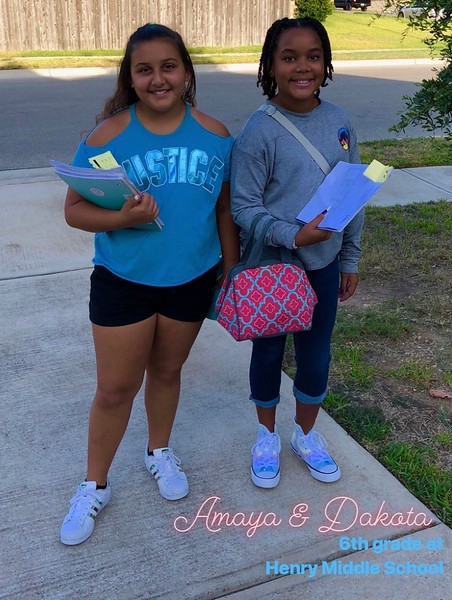 Amaya and Dakotah | 6th | Henry Middle School