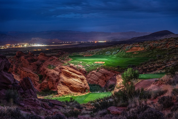 Golf Illuminated at Sand Hollow Golf Resort