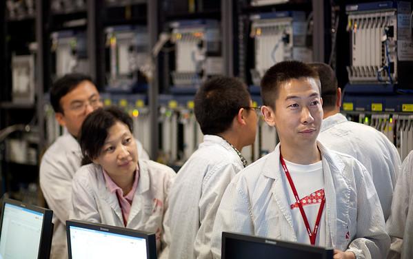 Huawei Shenzhen stock images
