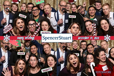 Spencer Stuart Holiday Party 2018